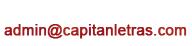 email Capitán Letras