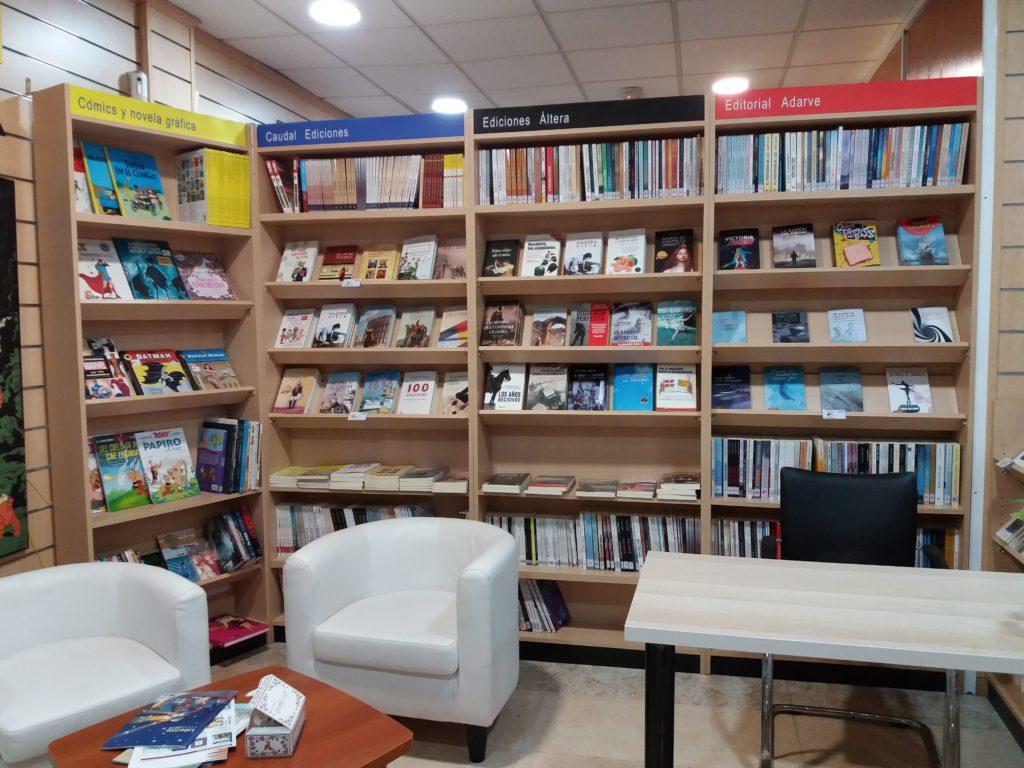 Zona de esparcimiento Librería Capitán Letras