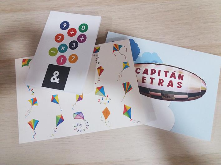 diseños exclusivos para franquicias Capitán Letras