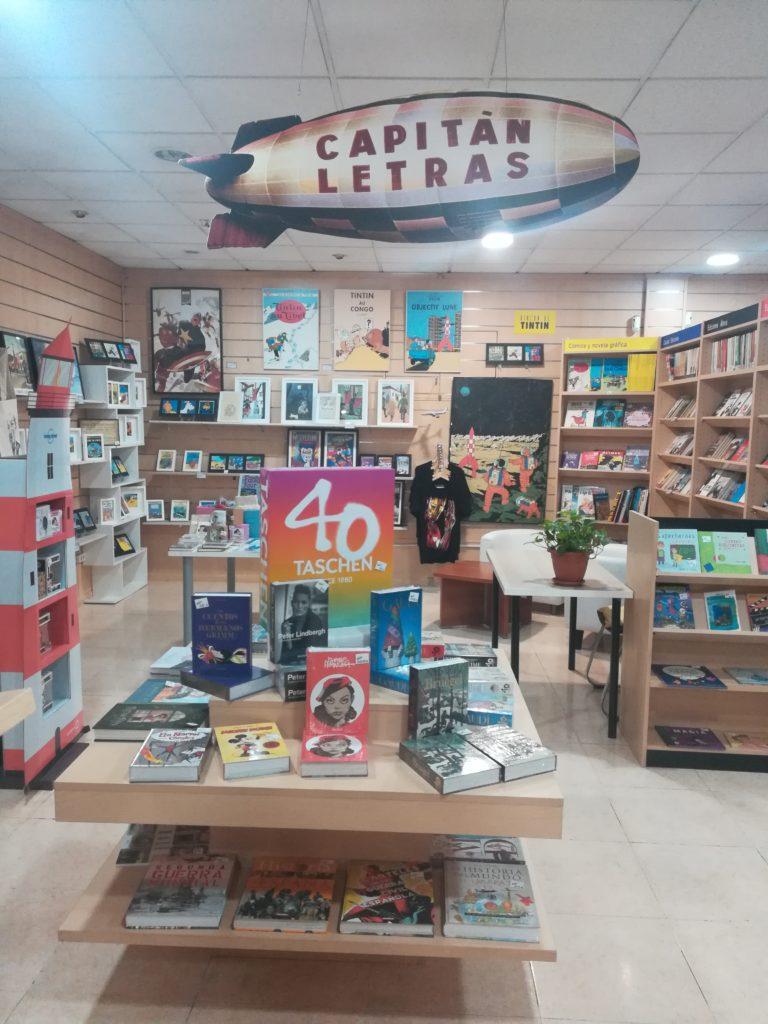 Librería Capitán Letras Madrid