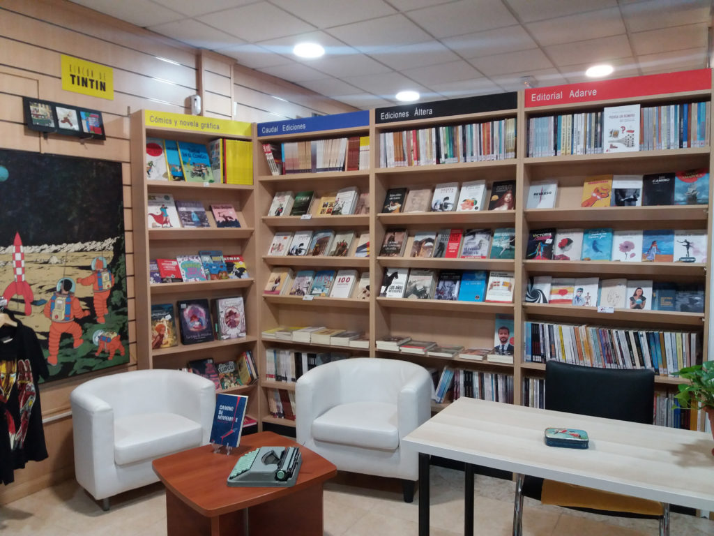 Espacio franquicias librerías