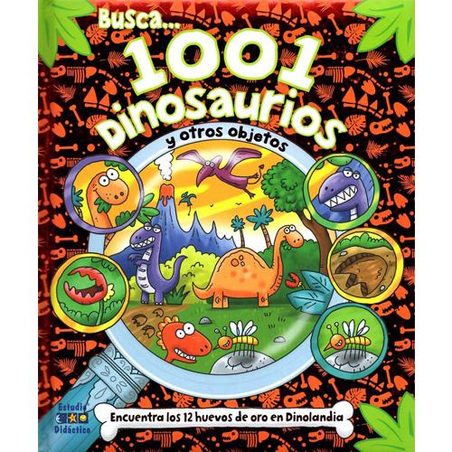 Busca 1001 dinosaurios y otros objetos