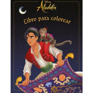 Aladdin: libro para colorear de Disney