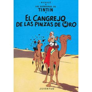 Las aventuras de Tintín: El cangrejo de las pinzas de oro