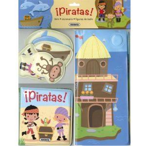 Libro de baño: Piratas