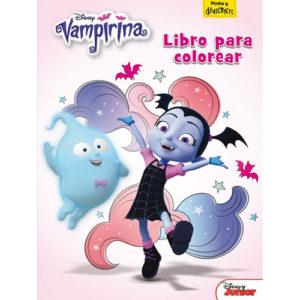 Vampirina: libro de colorear