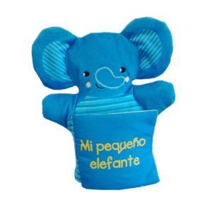 Libro marioneta Mi pequeño elefante