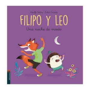 Filipo y Leo. Una noche de miedo