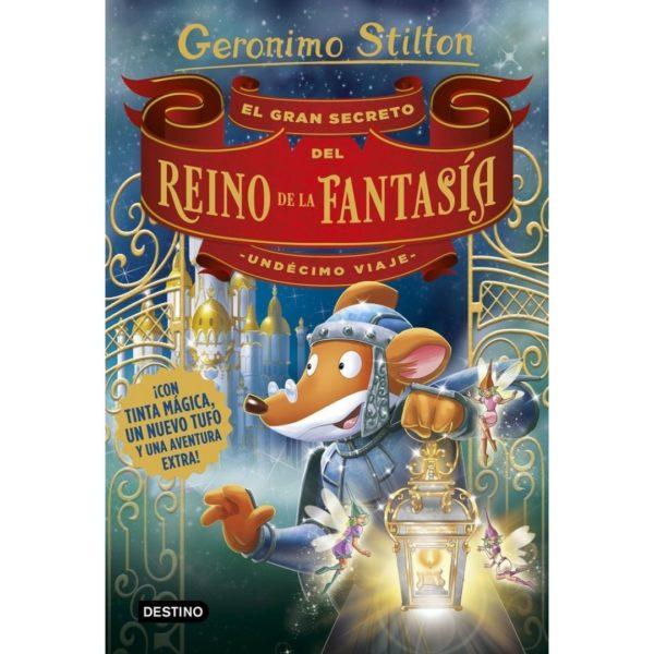 Geronimo Stilton El gran secreto del reino de la fantasía