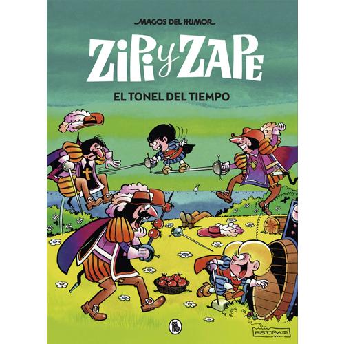 Zipi Zape. El tonel del tiempo