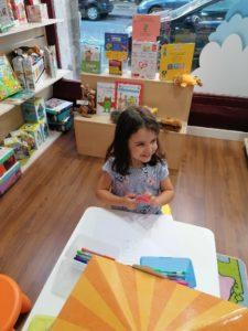 Área infantil de la librería